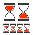 Sand Glass Timer vector image