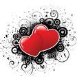 valentines grunge vector image vector image