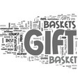 Why gift gift basket text word cloud concept