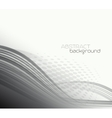 Abstract template background with curved wave vector image