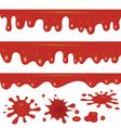 blood flowing vector image