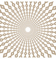 round seamless pattern geometric abstract vector image