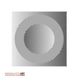 art of modern minimalistic design halftone vector image vector image