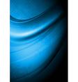Dark blue background vector image vector image