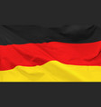 flag federal republic germany vector image
