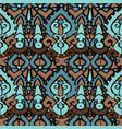 ikat ornament waves tribal pattern vector image vector image