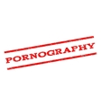 Pornography Watermark Stamp vector image vector image