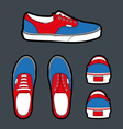 Shoes Authentic vector image vector image