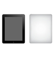 tablet computer ipad vector image vector image
