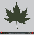Tree Leaf Icon vector image vector image