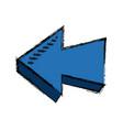 arrow direction orientation web button icon vector image vector image