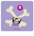 bone character vector image vector image