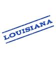 Louisiana Watermark Stamp vector image vector image