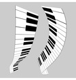 Piano keys for design