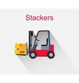 Stackers Icon Design Style Flat vector image vector image