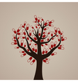 Tree a tablet vector image vector image