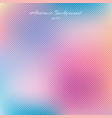 abstract pastel color blurred beautiful vector image vector image
