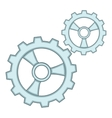 Gears icon cartoon style vector image vector image