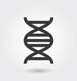icon dna medical icon line style for any purposes vector image