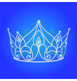 Jewels Tiara vector image vector image