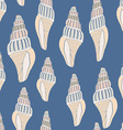 Seashell8 vector image vector image