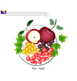 sloe and apple popular fruits of bosnia and herze