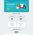 task or to do list web site template design vector image
