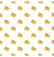 Ticket pattern cartoon style vector image vector image