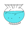 icon bowl vector image vector image