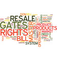 master resale rights lessons bill gates could vector image vector image