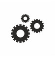 settings gears icon vector image vector image