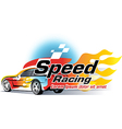 Speedy Race vector image