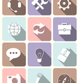 System icons - flat design vector image