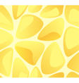 Amber stones seamless pattern vector image vector image