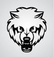 Bear face tribal