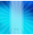 Blue Abstract Blurred Background vector image