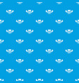 brick pattern seamless blue vector image