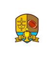 christian sports logo vector image vector image