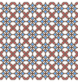 colored seamless geometric pattern vector image vector image