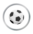 Football icon cartoon Single sport icon from the vector image vector image