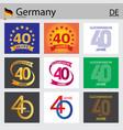 german set number 40 templates