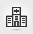 icon hospital medical icon line style for any vector image
