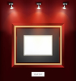 Indoor Wall Decoration Picture Frame Design vector image vector image
