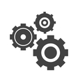 Multiple Cogwheels vector image vector image