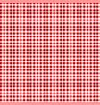 picnic table cloth seamless checkered vector image vector image