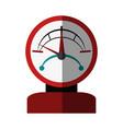 pressure gauge icon imag vector image vector image
