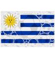 Uruguay soccer balls vector image vector image