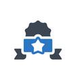winner badge icon vector image vector image