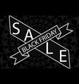 abstract - black friday sale - background vector image