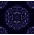 Abstract mandala seamless pattern vector image vector image